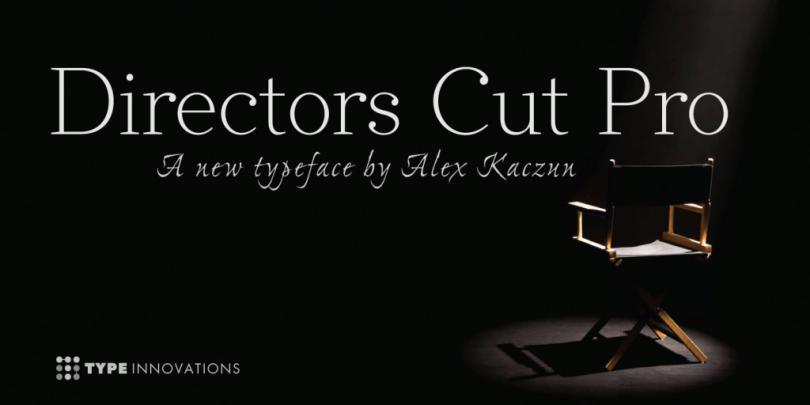 Directors Cut Pro [6 Fonts] | The Fonts Master