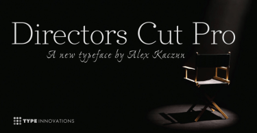 Directors Cut Pro [6 Fonts] | The Fonts Master