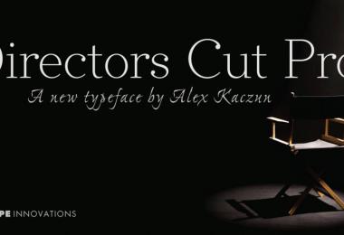Directors Cut Pro [6 Fonts]   The Fonts Master