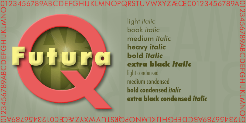 Futura Super Family [20 Fonts] | The Fonts Master