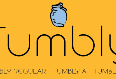 Tumbly [3 Fonts] | The Fonts Master