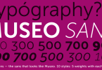 Museo Sans [10 Fonts] | The Fonts Master