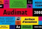 Audimat 3000 [8 Fonts] | The Fonts Master