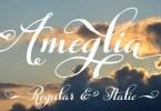Ameglia [2 Fonts] | The Fonts Master