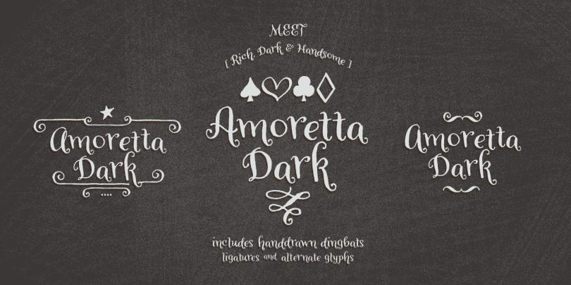 Amoretta [5 Fonts] | The Fonts Master