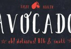 Avocado [1 Font] | The Fonts Master