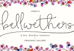 Bellwethers [6 Fonts] | The Fonts Master