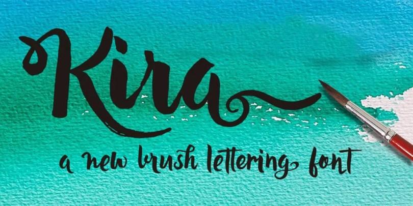 Kira [1 Font] | The Fonts Master
