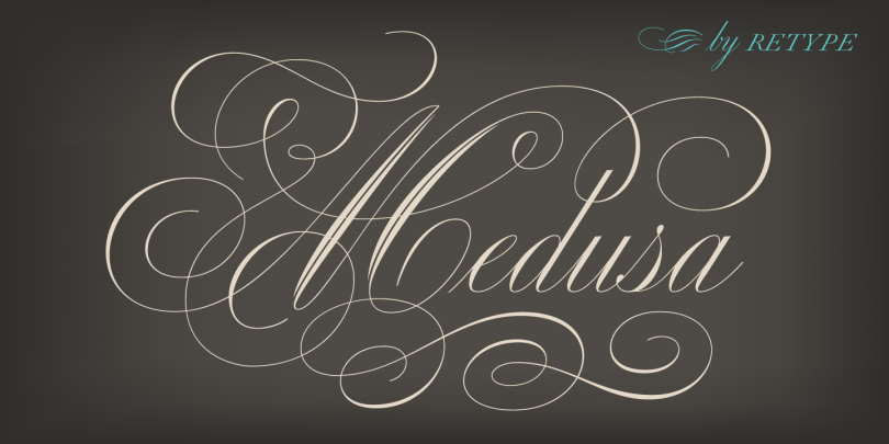 Medusa [2 Fonts] | The Fonts Master