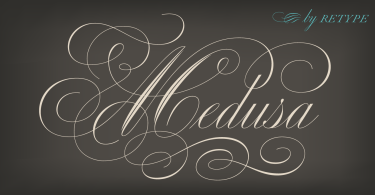 Medusa [2 Fonts] | The Fonts Master