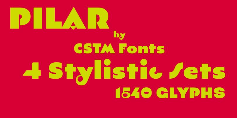 Pilar [1 Font] | The Fonts Master
