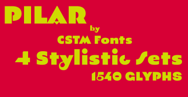 Pilar [1 Font]   The Fonts Master