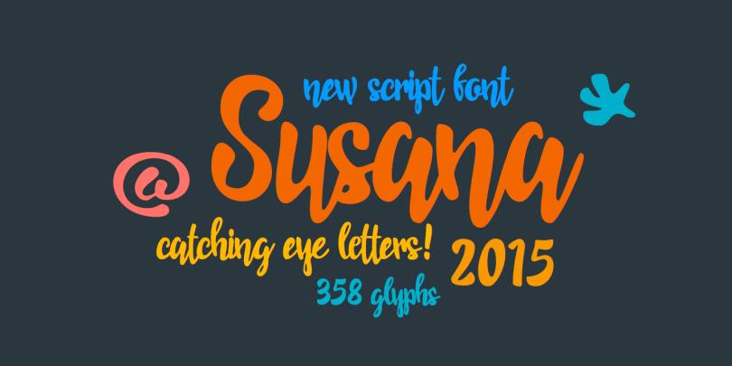 Rns Susana [1 Font] | The Fonts Master