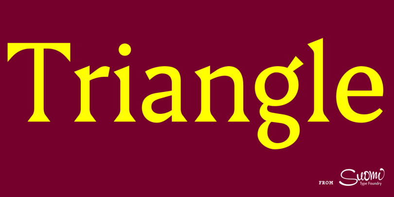 Triangle [8 Fonts] | The Fonts Master
