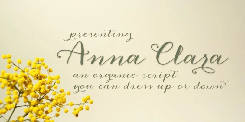 Anna Clara [1 Font]   The Fonts Master