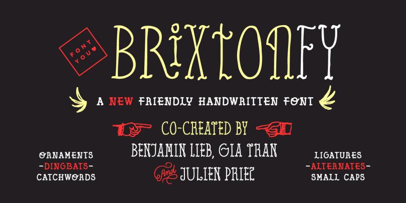 Brixton Fy [5 Fonts] | The Fonts Master