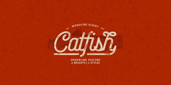 Catfish [5 Fonts] | The Fonts Master