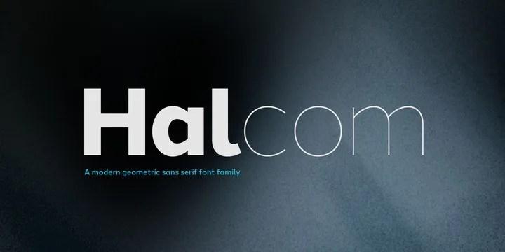 Halcom Super Family [16 Fonts]   The Fonts Master