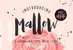 Mallow [1 Font] | The Fonts Master