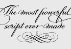Pf Champion Script Pro Super Family [2 Fonts] | The Fonts Master