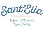 Sant' Elia Script Super Family [44 Fonts] | The Fonts Master