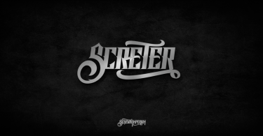 Screter [1 Font] | The Fonts Master