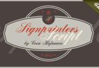 Signpainters Script [1 Font] | The Fonts Master