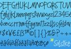 Solstice [1 Font] | The Fonts Master