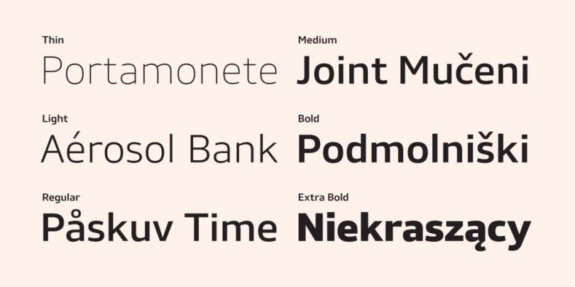Stratus [6 Fonts] | The Fonts Master