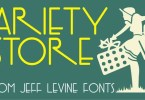 Variety Store Jnl [1 Font] | The Fonts Master