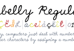 Yellabelly [1 Font] | The Fonts Master