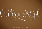 Centeria Script [12 Fonts] | The Fonts Master