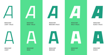 Beauchef [10 Fonts] | The Fonts Master