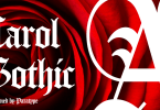 Carol Gothic [1 Font] | The Fonts Master