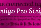 Fertigo Pro Script [1 Font] | The Fonts Master