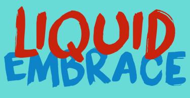 Liquid Embrace [1 Font] | The Fonts Master
