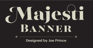 Majesti Banner [10 Fonts] | The Fonts Master