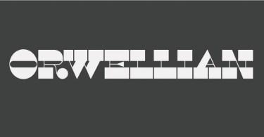 Orwellian [1 Font] | The Fonts Master
