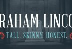 Abraham Lincoln [1 Font] | The Fonts Master