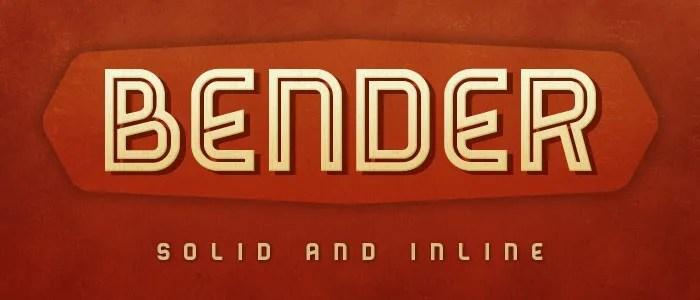 Bender [4 Fonts] | The Fonts Master