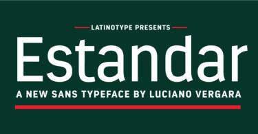 Estandar [13 Fonts] | The Fonts Master