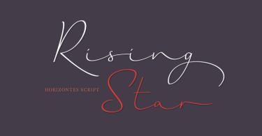Horizontes Script [2 Fonts] | The Fonts Master