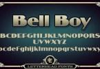 Lhf Bell Boy [1 Font] | The Fonts Master