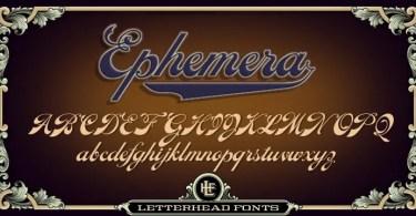 Lhf Ephemera [3 Fonts]   The Fonts Master