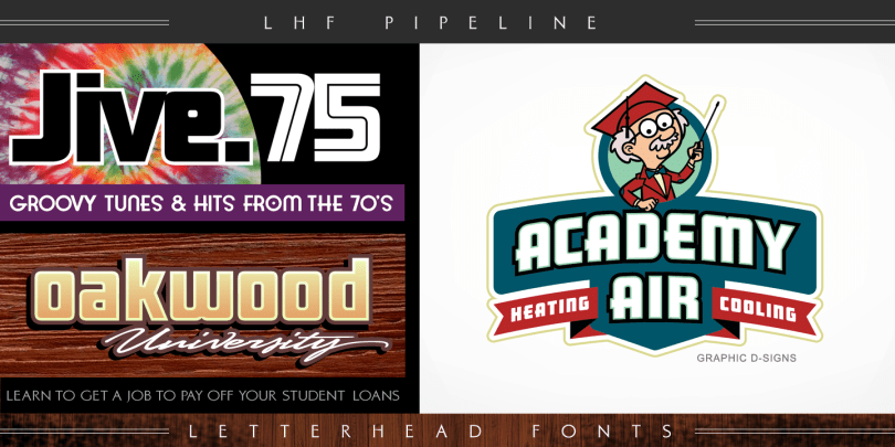 Lhf Pipeline [2 Fonts]   The Fonts Master