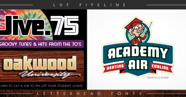 Lhf Pipeline [2 Fonts] | The Fonts Master
