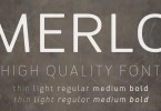 Merlo [10 Fonts] | The Fonts Master