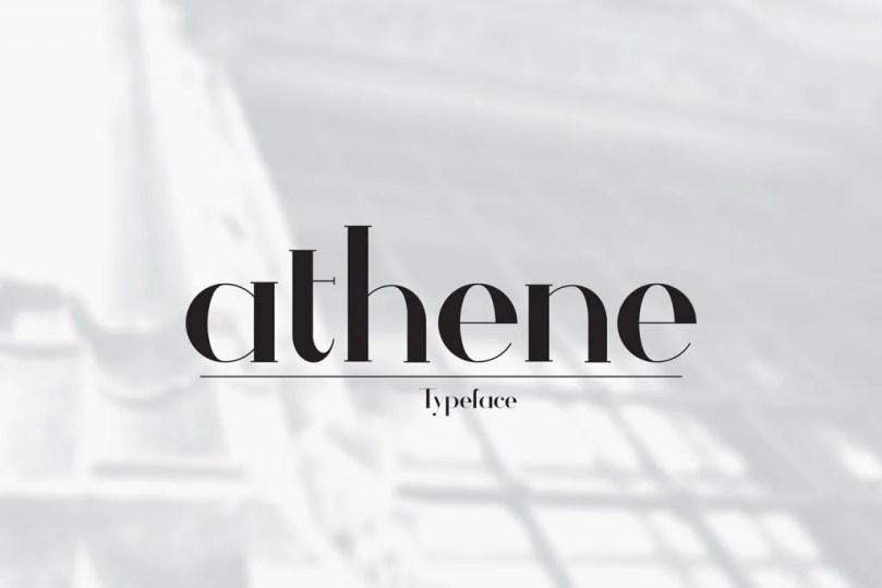 Athene [1 Font] | The Fonts Master