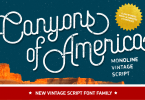 Canyons [8 Fonts] | The Fonts Master