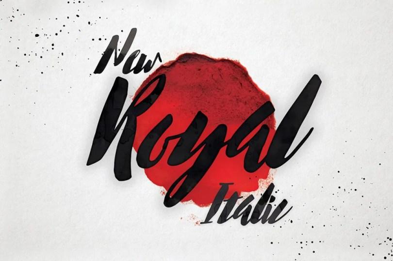 New Royal Italic [1 Font] | The Fonts Master